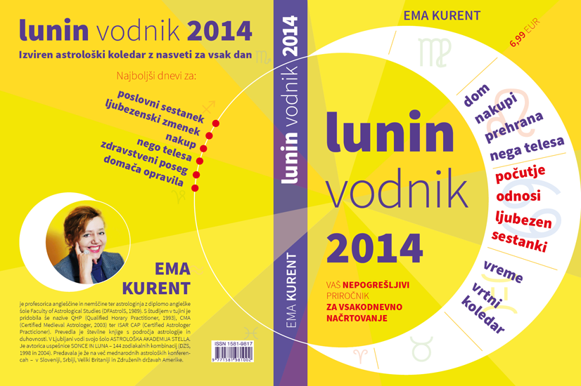 Cover Design for a Lunar Calendar - Lunin Vodnik 2014