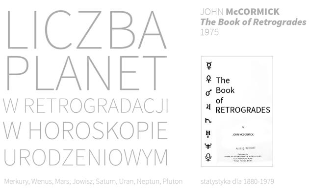 McCormick istatystyka planet wretrogradacji