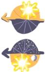 Horoskopy dzienne inocne - słońce nadipodhoryzontem